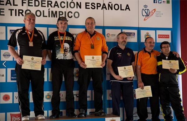 Colmenares Campeón de España