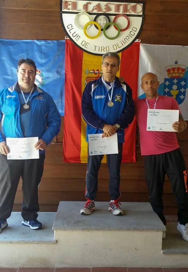 El Aeroclub Campeón Gallego en Pistola Standar
