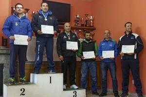 Gervasio Murado campeón gallego en Pistola Aire