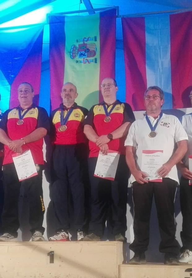 Miguel Colmenares Campeón del mundo de Armas Históricas