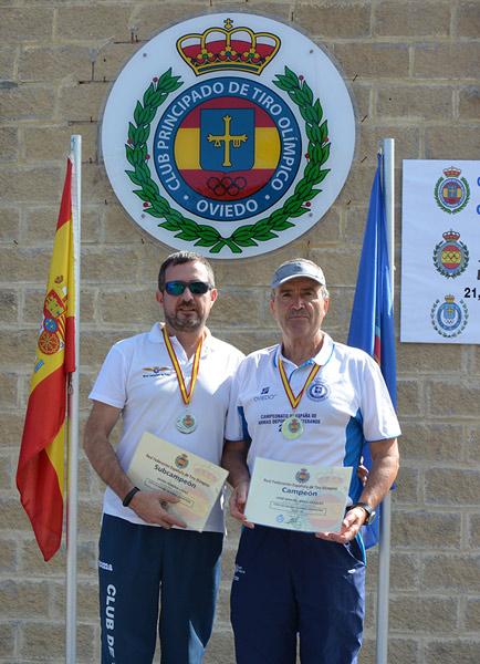 Triplete de J.M. Arias en la Copa de España