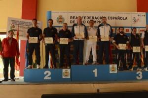 """Real Aeroclub """"Campeon de España por equipos en 9 mm."""""""